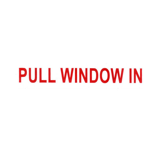 Pull Window in