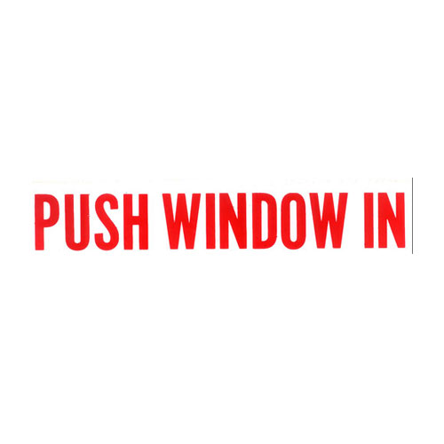 Push Window In